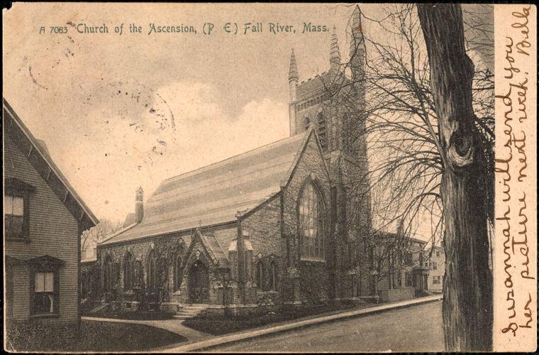 Church of the Ascension (P.E.) Fall River, Mass.