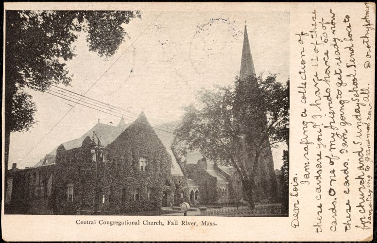 Central Congregational Church, Fall River, Mass.