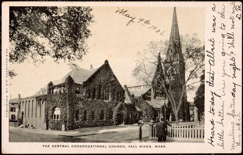 The Central Congregational Church, Fall River, Mass.
