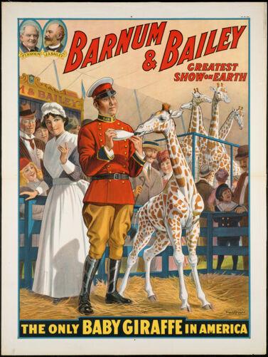 Barnum & Bailey greatest show on earth