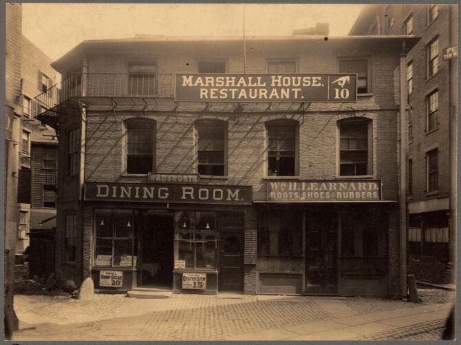 The Marshall House, Marshall Street