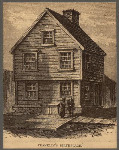 Birthplace of Benjamin Franklin, Milk Street