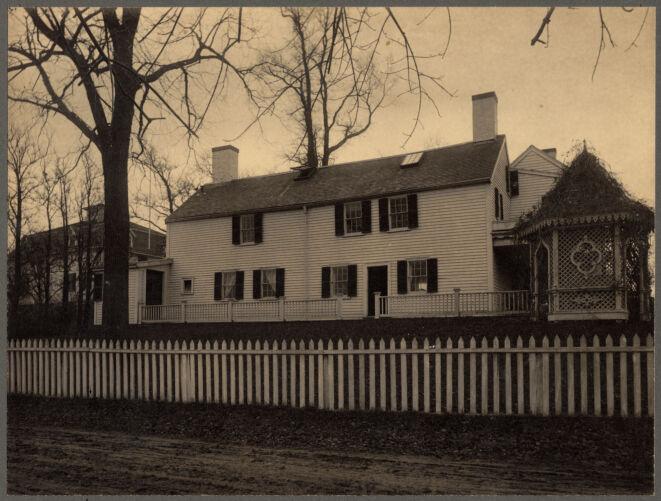 The Tileston-Davenport House, Dorchester