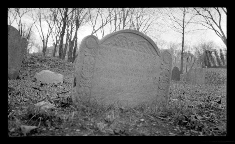 William Tompson gravestone