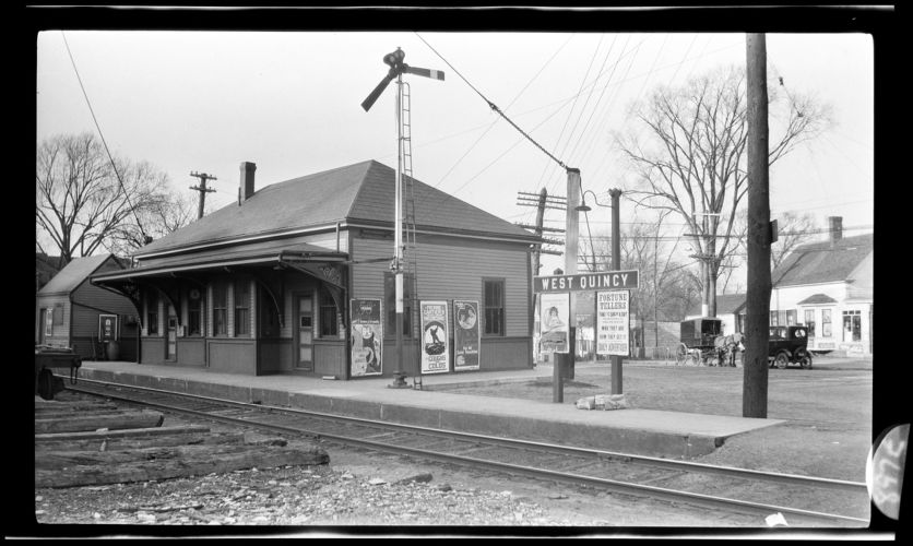 West Quincy Railroad Station 1924