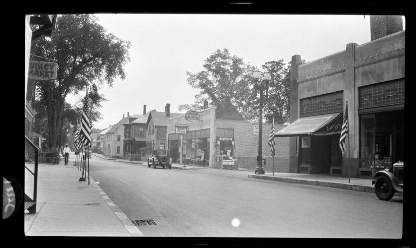 Westerly side - Chestnut St. 1931