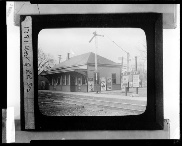 West Quincy RR Station