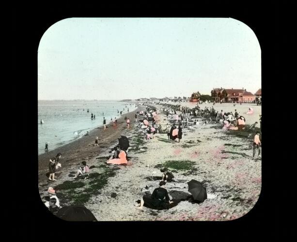 Wollaston Beach. (color). 1920s