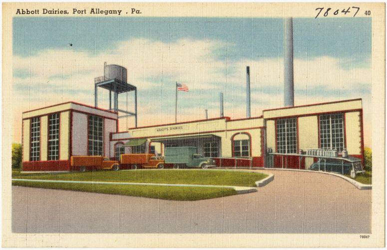 Abbott Dairies, Port Allegany, Pa.