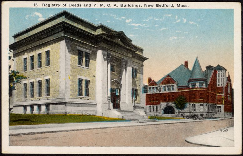 Registry of Deeds & Y.M.C.A. buildings, New Bedford, Mass.
