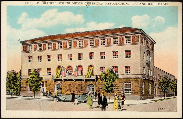 28th St. branch, Young Men's Christian Association, Los Angeles, Calif.
