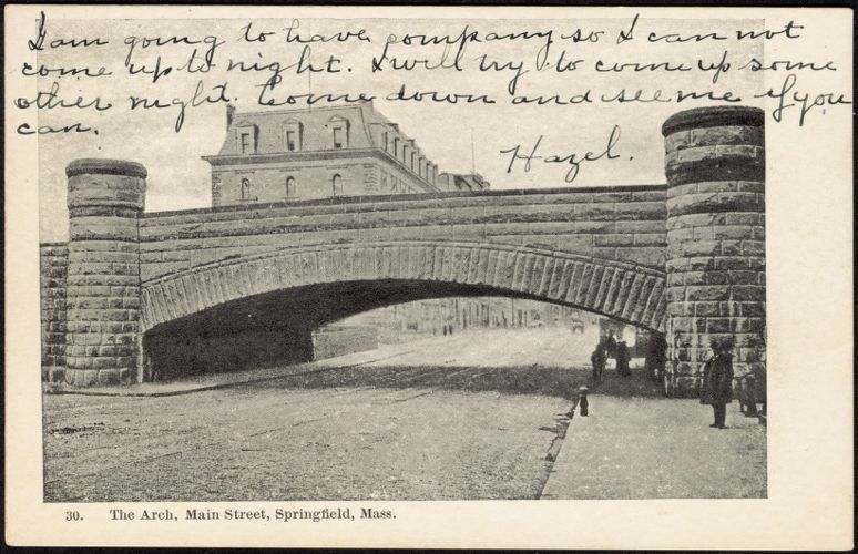 The Arch, Main Street, Springfield, Mass.