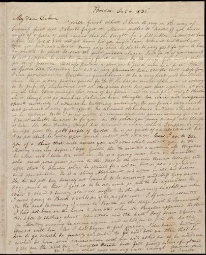 Letter from Anne Warren Weston, Boston, to Deborah Weston, Oct. 4, 1836
