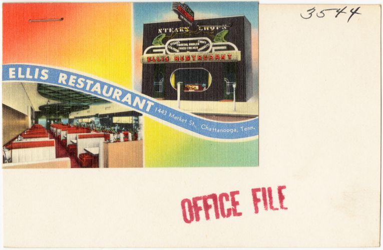Ellis Restaurant, 1443 Market St., Chattanooga, Tenn.