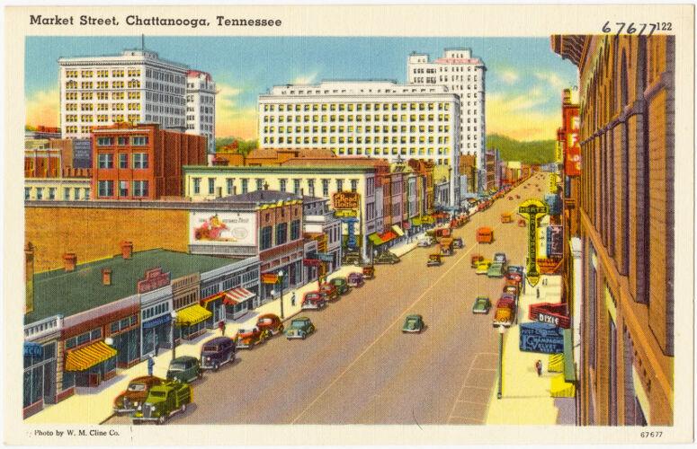 Market Street, Chattanooga, Tennessee