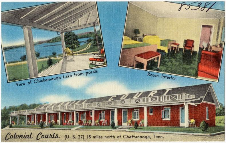 Clonial Court, (U.S. 27) 15 miles north of Charranooga, Tenn.