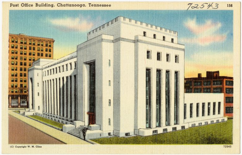 Post office building, Chattanooga, Tennessee