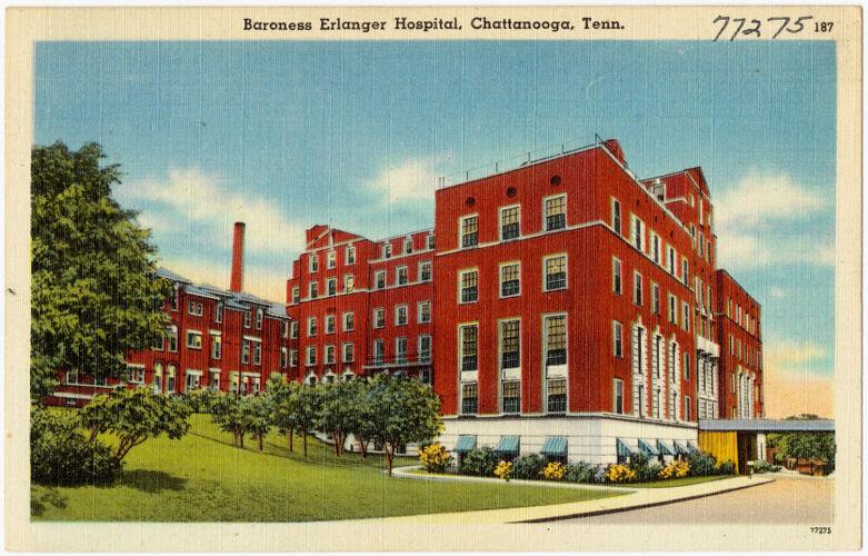 Baroness Erlanger Hospital, Chattanooga, Tenn.