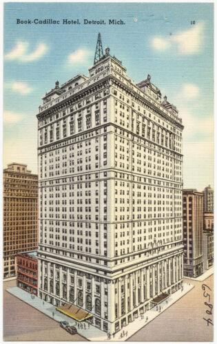 Book-Cadillac Hotel, Detroit, Mich.