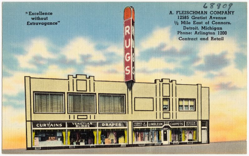 A. Fleischman Company, 12585 Gratiot Avenue, 1/2 mile east of Connors, Detroit, Michigan