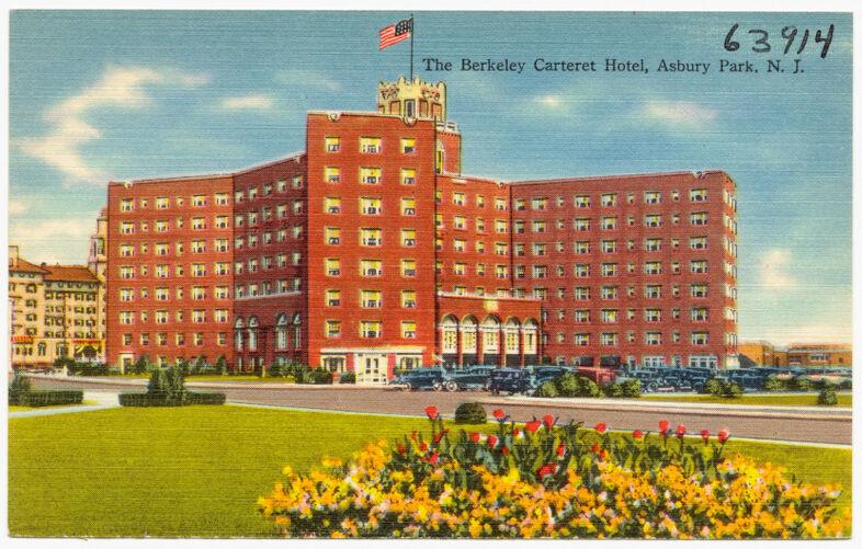 The Berkeley Carteret Hotel, Asbury Park, N. J.
