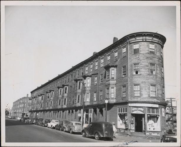 Rogers Block before demolition