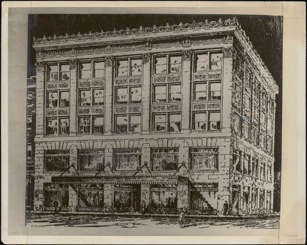 Maller Furniture Co. new building