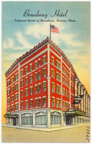 Broadway Hotel, Tremont Street at Broadway, Boston, Mass.