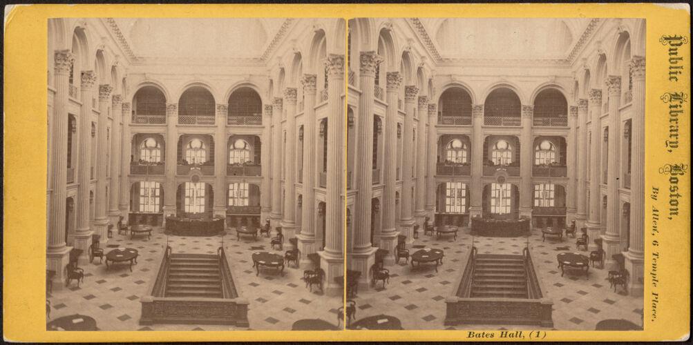 Bates Hall, (1)