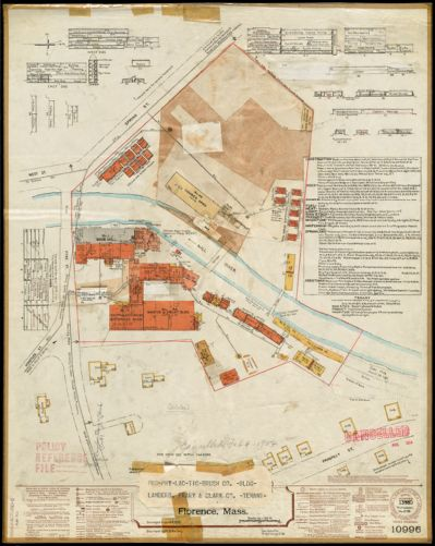Prophylactic Brush Co. (Bldg), Landers, Frary & Clark Co. (Tenant), Florence, Mass. [insurance map]
