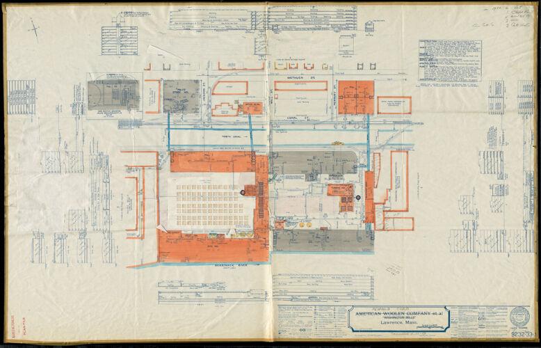 "American Woolen Company et al, ""Washington Mills,"" Lawrence, Mass."