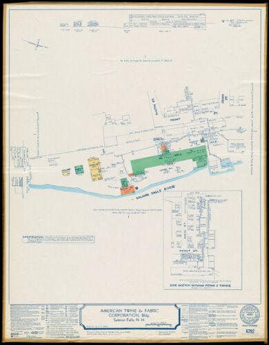 American Twine & Fabric Corporation, Bldg., Salmon Falls, N.H. [insurance map]