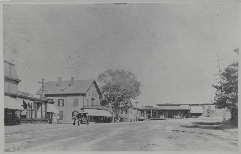 Newton photographs oversize - Newton Village Shops - Auburndale Square -