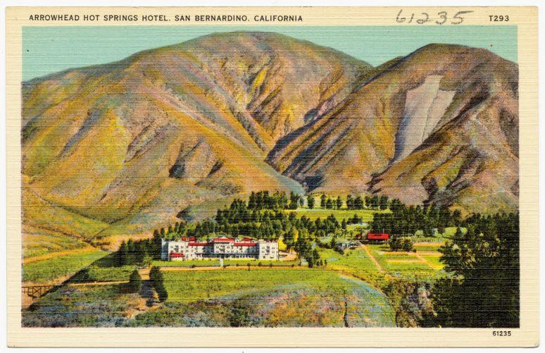 Arrowhead Hot Springs Hotel, San Bernardino, California