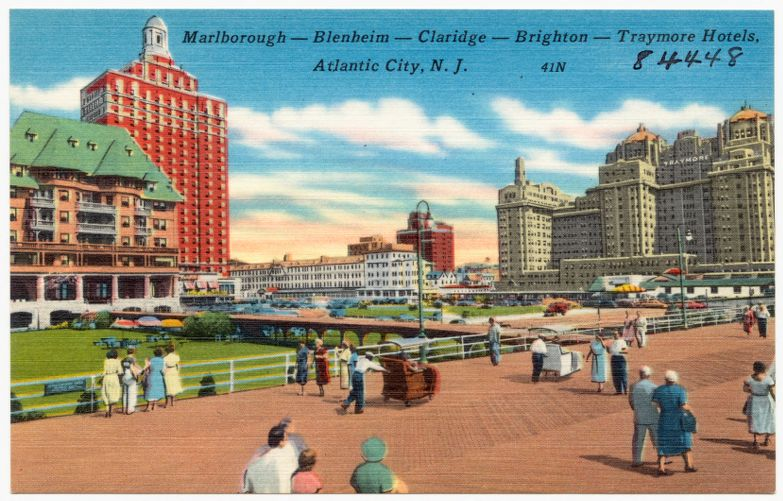 Marlborough -- Blenheim -- Claridge -- Brighton -- Traymore Hotels, Atlantic City, N. J.