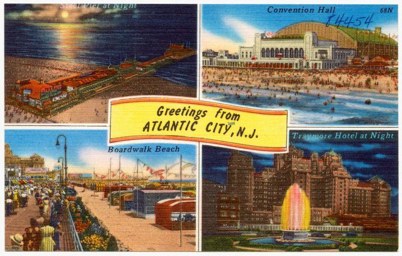 Greeting from Atlantic City, N. J.