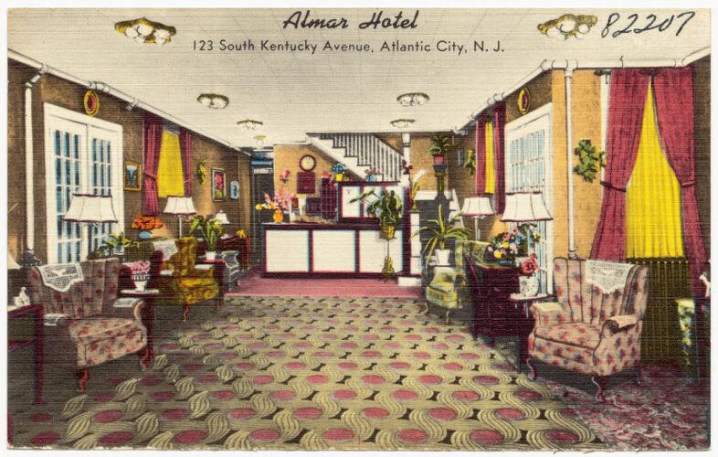 Almar Hotel, 123 South Kentucky Avenue, Atlantic City, N. J.