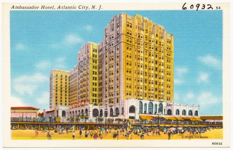Ambassador Hotel, Atlantic City, N. J.