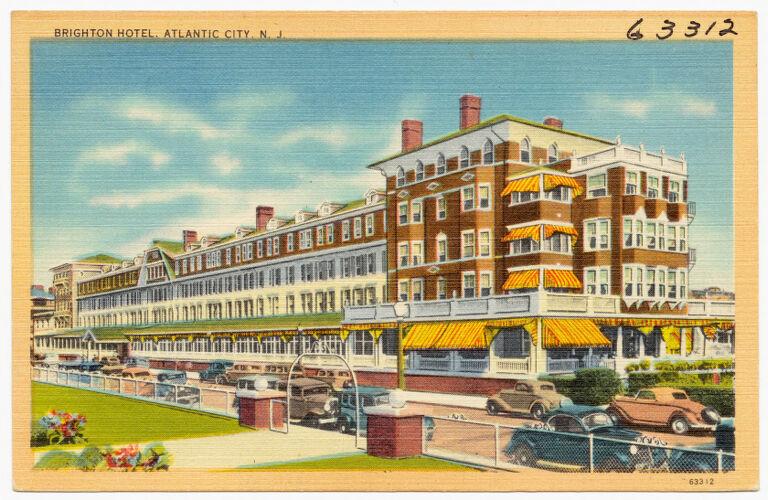 Brighton Hotel, Atlantic City, N. J.