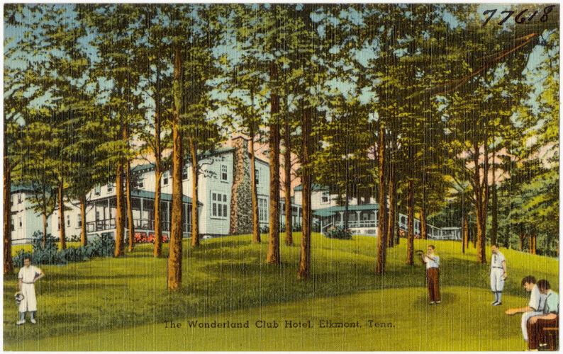 The Wonderland Cub Hotel, Elkmont, Tenn.