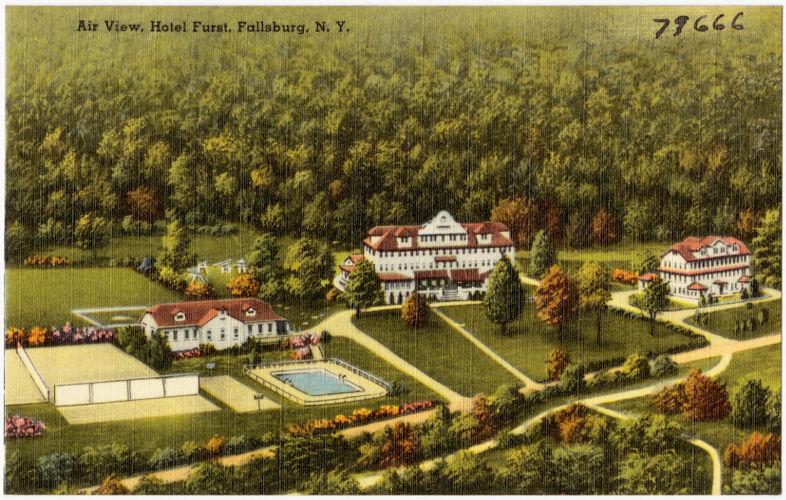 Air View, Hotel Furst, Fallsburg, N. Y.
