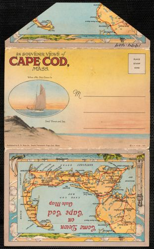 24 souvenir views of Cape Cod and Southern Plymouth County, Massachusetts