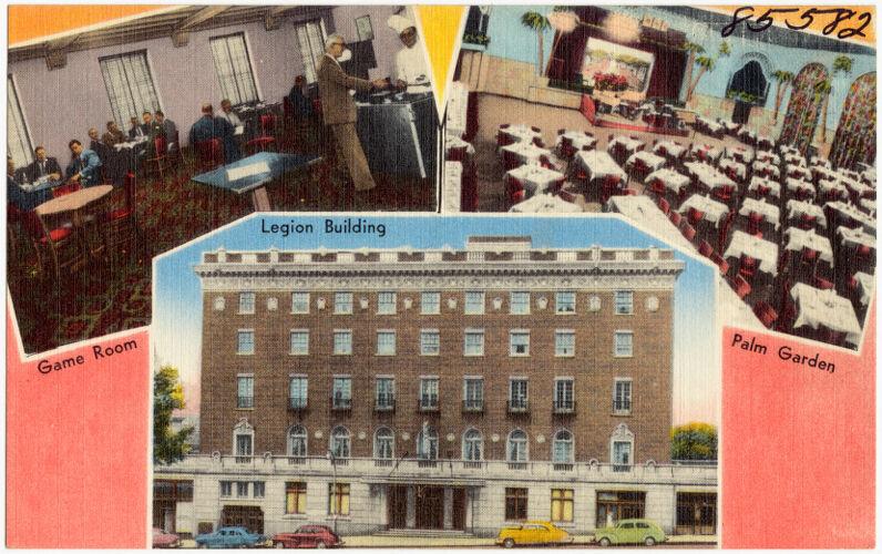 The American Legion Building, 2027 Dodge Street, Omaha, Nebraska. The world's largest Legion Post
