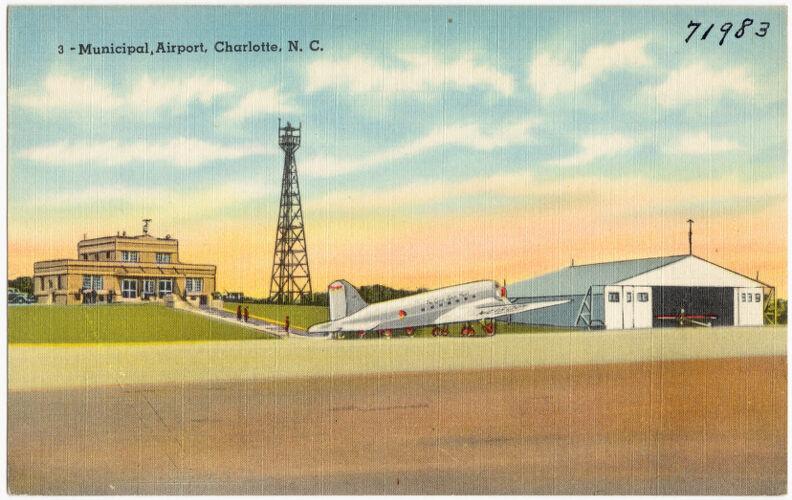 3. Municipal Airport, Charlotte, N. C.