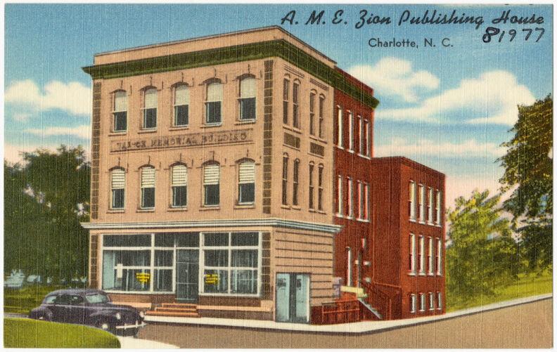A. M. E. Zion Publishing House, Charlotte, N. C.