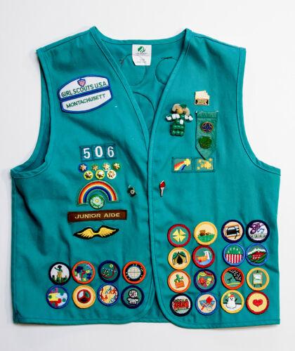 Girl Scout Uniform Vest and Sash