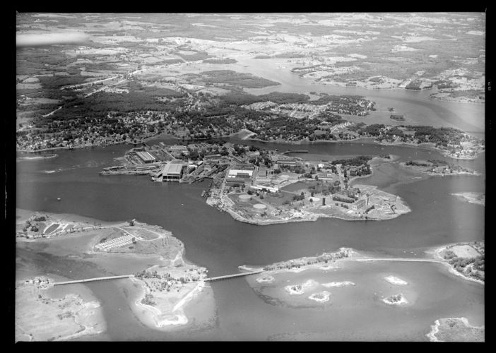 Aerial view of Navy Yard