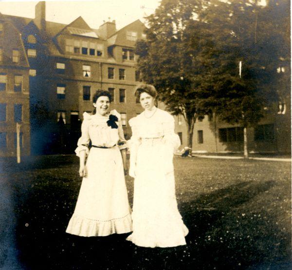 Abbot girls on Lawn