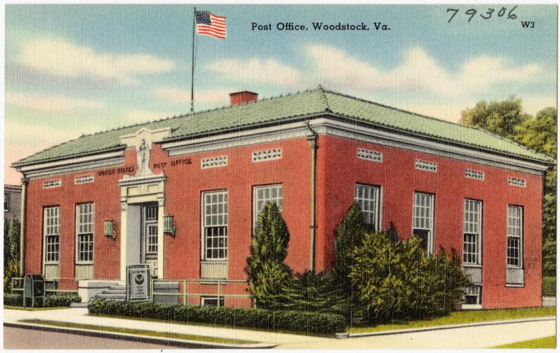 Post office, Woodstock, Va.