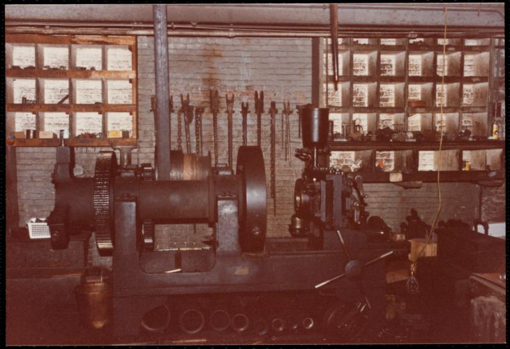 Lower Pacific Mills. Pipe shop